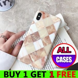Accessories - NEW iPhone Max/XR/XS/X/78/Plus Granite Marble Case